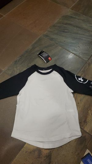 Underarmour youth shirt youth xs 8 to 10 years old for Sale in Wichita, KS