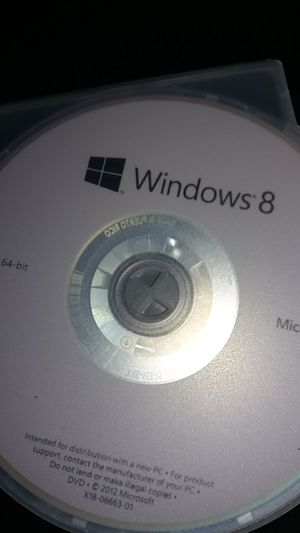 Windows 8 operating system for Sale in Hudson, MA
