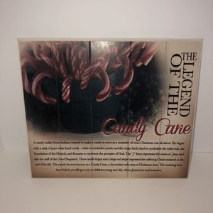 """The Legend of the Candy Cane Christmas wooden picture wall decoration 13""""x11""""x"""".5"""" for Sale in Saint Albans, WV"""