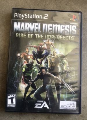 Ps2 Marvel Nemesis like new for Sale in Modesto, CA