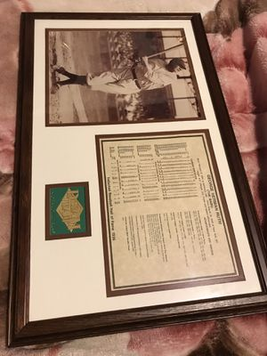 George Herman Ruth (The Babe) Picture Frame for Sale in San Lorenzo, CA