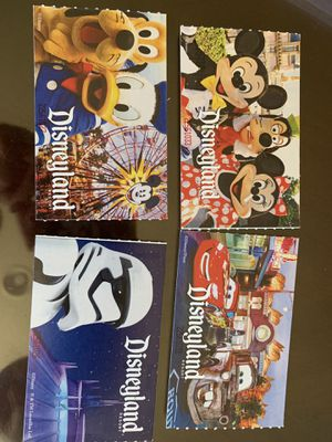 Disneyland 1 day hopper tickets for Sale in Tracy, CA