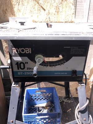 "Ryobi 10 "" table saw for Sale in Lancaster, OH"