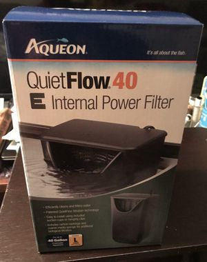 Aqueon quiet flow 40 E for Sale in Pittsburgh, PA