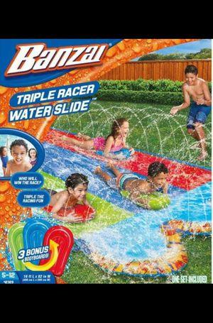 Pool triple slide for Sale in Riverside, CA