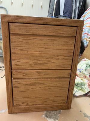 Oak Filing Cabinet for Sale in Venice, FL