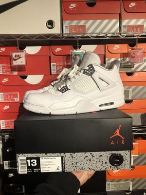 Nike Air Jordan 4 Pure Money size 13 worn once for Sale in Northfield, OH
