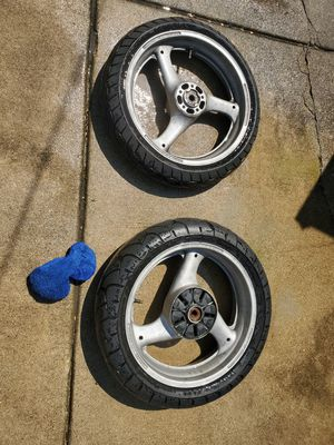 Motorcycle rims ?Suzuki for Sale in Chicago, IL