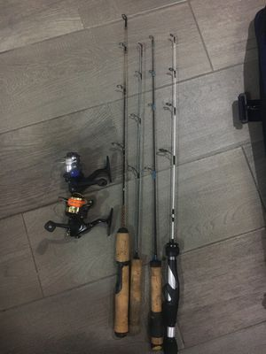 Ice fishing rods for Sale in Downers Grove, IL
