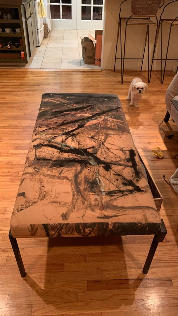 Modern Art bench or coffee table