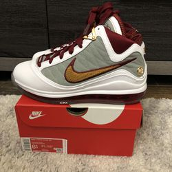 Nike Lebron VII 7 GS QS MVP CZ8899-100 GS LIMITED Youth 6.5Y/Womens 8 for Sale in South San Francisco,  CA