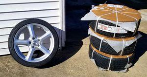 Sport Edition F7 Wheels and Bridgestone Tires (New) for Sale in Glenview, IL