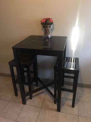 Tall Kitchen Table & Stools for Sale in Elmhurst, IL