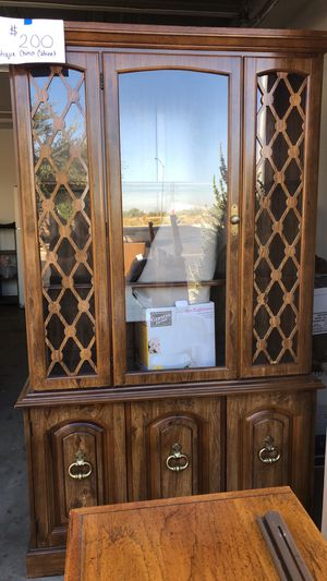 Antique china cabinet -smoke and pet free home for Sale in Peoria, AZ