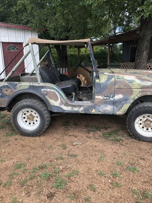 1974 Jeep cj5 runs great clear title for Sale in Brady, TX