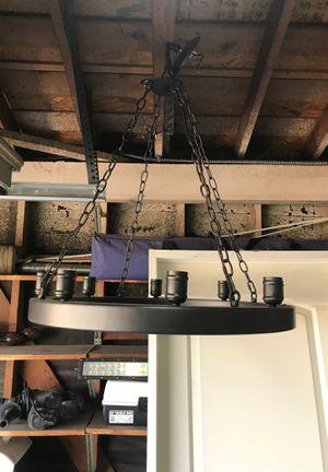 8 light chandelier for Sale in Upland, CA