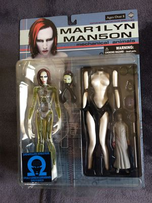 Marilyn Manson Fewture Models Action Figures Mechanical Animals and Holywood Lot of2 for Sale in Denver, CO