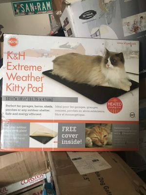Extreme weather kitty pad for Sale in Fresno, CA