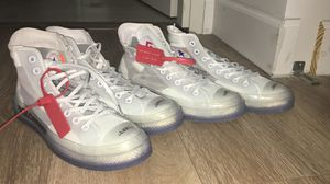 Converse Off White SIZE 8 and 8.5 for Sale in Key Biscayne, FL