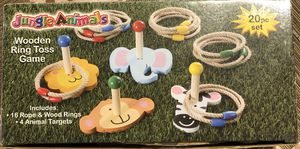 Wooden Ring Toss Game for Kids for Sale in San Bruno, CA