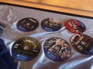 ASAP 6 New Ps4 Game Disc, like new, $60 for Sale in Plano, TX