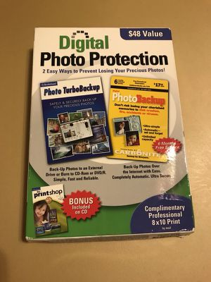 DIGITAL PHOTO PROTECTION SOFTWARE for Sale in Stockton, CA
