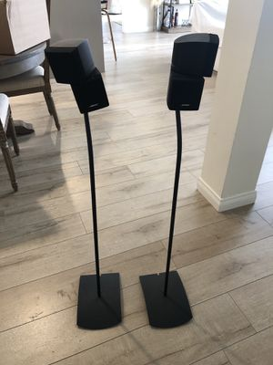 Bose Surround Sound Speakers With Floor Stands for Sale in Los Angeles, CA