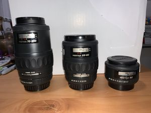 Pentax Camera Lens for Sale in San Diego, CA