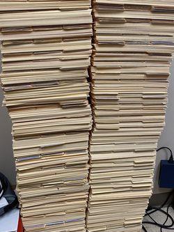 FREE Manilla Folders - Must Pickup in Dallas 75203 for Sale in Dallas,  TX