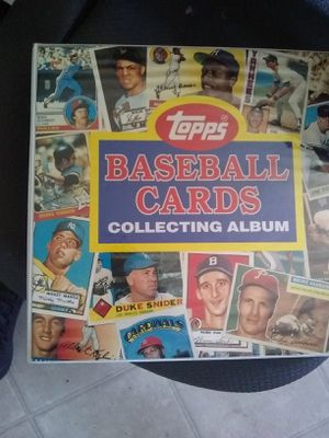 Topps Baseball Card Collection (250 cards+) for Sale in Clovis, CA