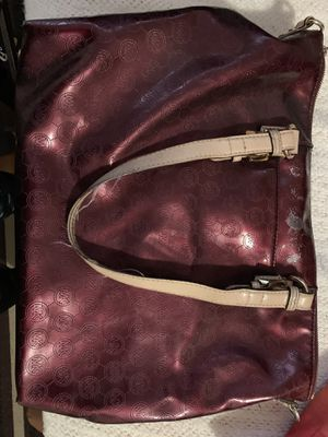 Michael Kors Burgundy Tote bag for Sale in Santa Ana, CA
