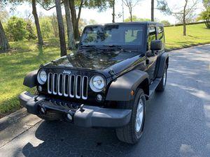 2012 Jeep Wrangler 2DR Sport 21K Miles Black for Sale in Tampa, FL