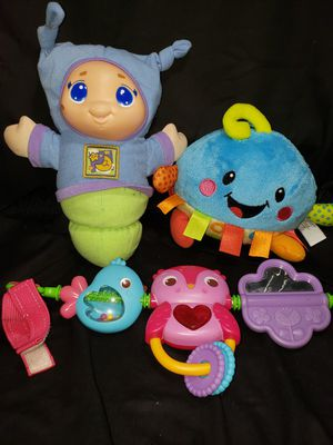 Baby glo worm fp giggle toy and toy for stroller for Sale in South Zanesville, OH