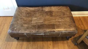 Restoration hardware ottoman for Sale in San Diego, CA