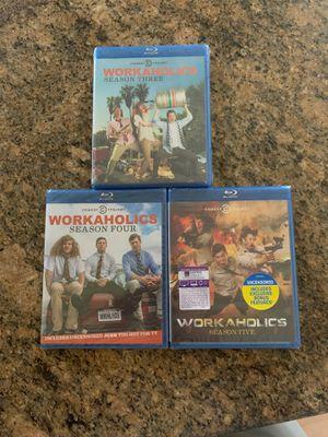 Workaholics season 3-5 for Sale in Plainfield, IL