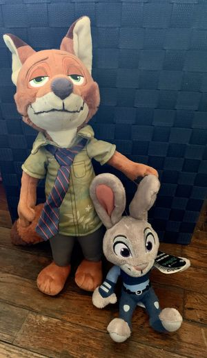 Zootopia plushies for Sale in Los Angeles, CA