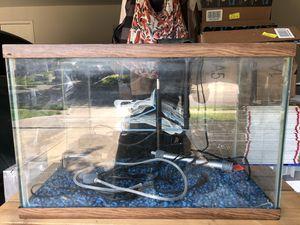 20 Gallon Tall Aquarium/Fish Tank Plus Accessories for Sale in Round Rock, TX