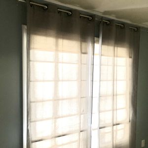 Curtains - 2 Panels (Length- 95 by Width-39) for Sale in Bloomington, IL