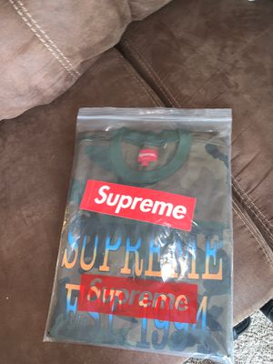 Supreme camo shirt for Sale in Bedford Heights, OH