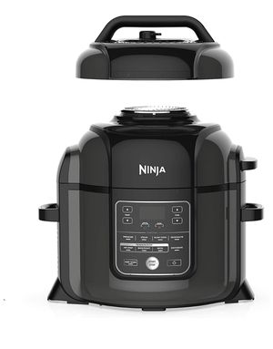 Ninja Foodi 9-in-1 Pressure, Broil, Dehydrate, Slow Cooker, Air Fryer, and More, 8-Quart, and High Gloss Finish for Sale in Springfield, VA