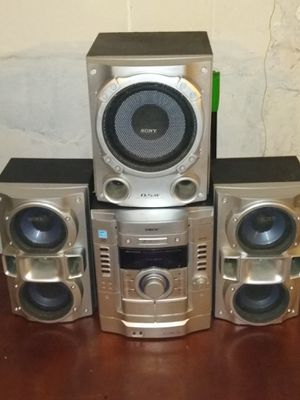 SONY HI-FI STEREO SYSTEM for Sale in East St. Louis, IL