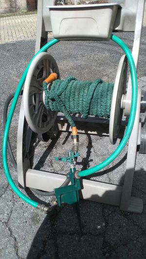 Caddy, hose, diverted and sprinkler ready to go. for Sale in Pittsburgh, PA