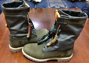 """💯 AUTHENTIC TIMBERLAND 6"""" GAITER CAMO GREEN WATERPROOF BOOTS SIZE 10 BRAND NEW Supreme Deal!!!!! $120 DeadStock for Sale in Raleigh, NC"""