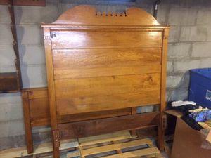 Antique Oak Bed for Sale in Roanoke, VA