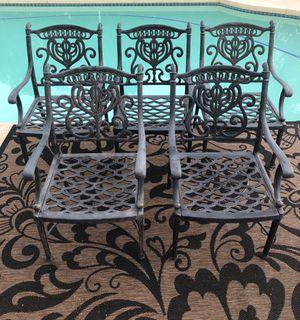 Hanamint patio chairs. Heavy. (Tempe) for Sale in Tempe, AZ