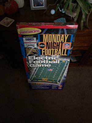 Monday night foot ball/electric football game for Sale in Phoenixville, PA