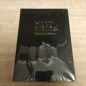 Holy Bible King James Version Red Letter Edition - Black for Sale in Evansville, IN