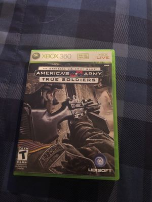 America's Army True Soldiers Xbox 360 game for Sale in Weymouth, MA