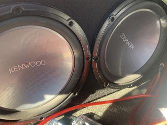 Subwoofer. Amp. Kenwood. Rockford Fosgate for Sale in Santa Ana,  CA