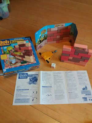 Milton Bradley Bob the Builder Bricklaying Game for Sale in Tempe, AZ